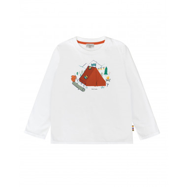 Printed cotton jersey T-shirt PAUL SMITH JUNIOR for BOY