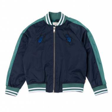 Embroidered bomber jacket PAUL SMITH JUNIOR for BOY