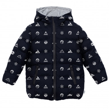 Reversible hooded down jacket PAUL SMITH JUNIOR for BOY