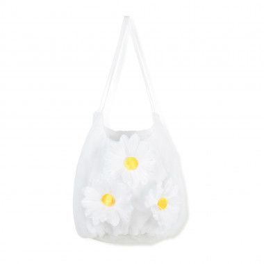 Novelty bag with daisy motif CHARABIA for GIRL