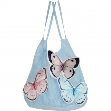 Novelty bag with butterfly CHARABIA for GIRL