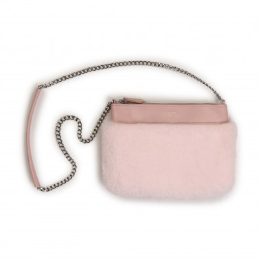 Faux-fur leather handbag CHARABIA for GIRL