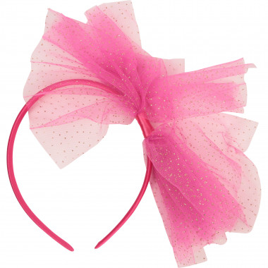 Headband with sequin bow CHARABIA for GIRL