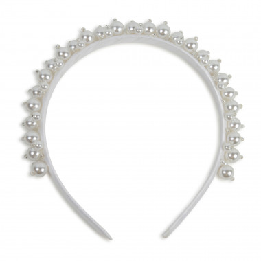 Shimmering pearl headband CHARABIA for GIRL