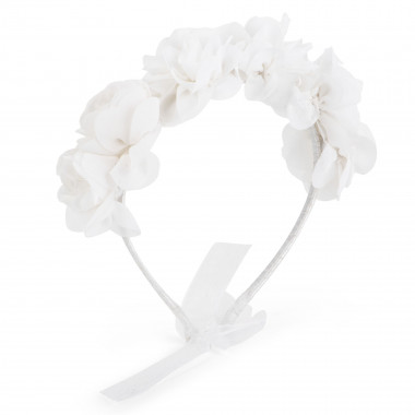 Tulle and bead headband CHARABIA for GIRL
