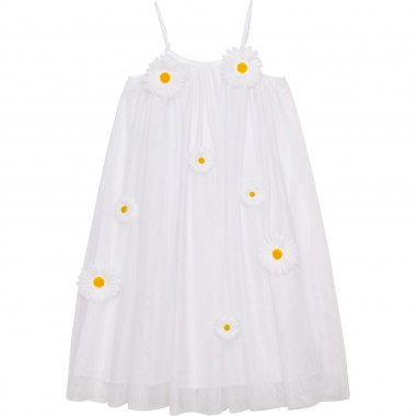 Strappy tulle dress CHARABIA for GIRL