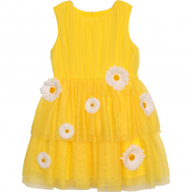 Sleeveless floral dress CHARABIA for GIRL