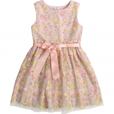 Printed dress with belt CHARABIA for GIRL