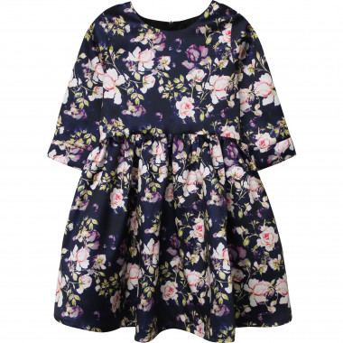 Floral print pleated dress CHARABIA for GIRL