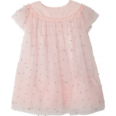 Beaded tulle dress CHARABIA for GIRL
