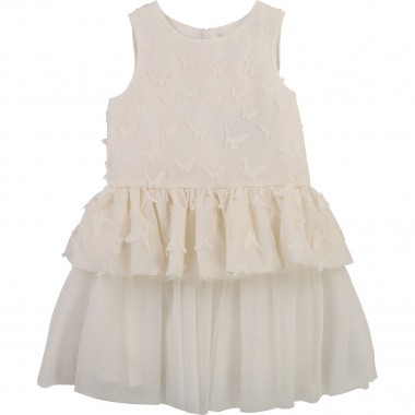Tulle and organza dress CHARABIA for GIRL