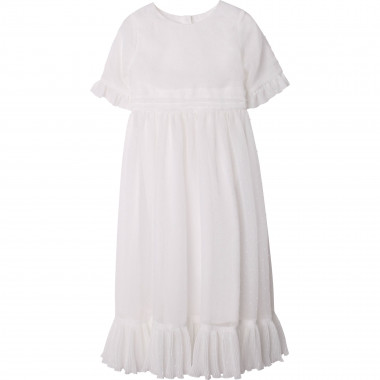 Dotted swiss formal dress CHARABIA for GIRL