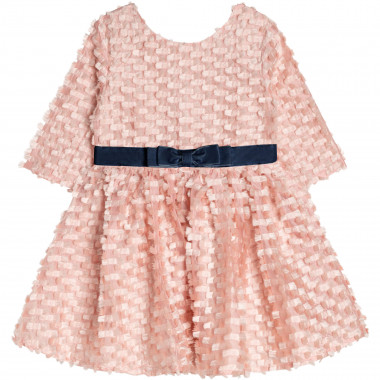 Skater dress with bows CHARABIA for GIRL