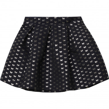 Pleated jacquard skirt CHARABIA for GIRL