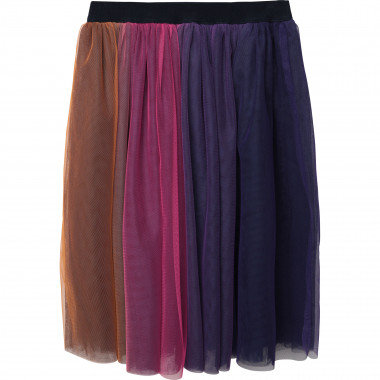 Multicolour tulle midi skirt CHARABIA for GIRL