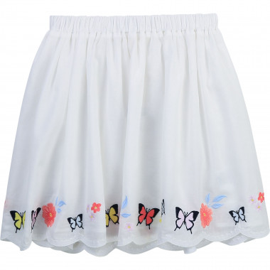 Cotton voile skirt CHARABIA for GIRL