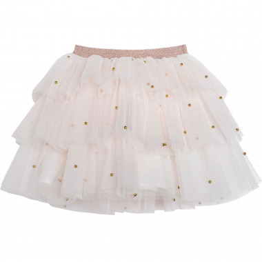Tulle skirt with beads CHARABIA for GIRL