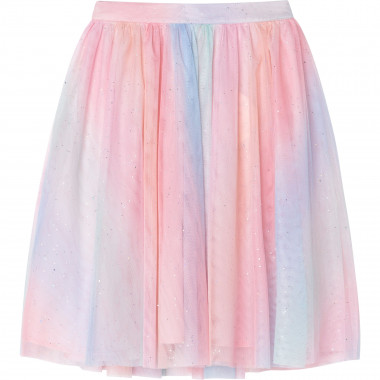 Sparkly tulle shaded skirt CHARABIA for GIRL