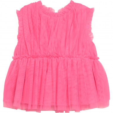 Sleeveless tulle top CHARABIA for GIRL