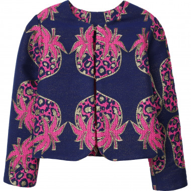 Fancy jacquard jacket CHARABIA for GIRL