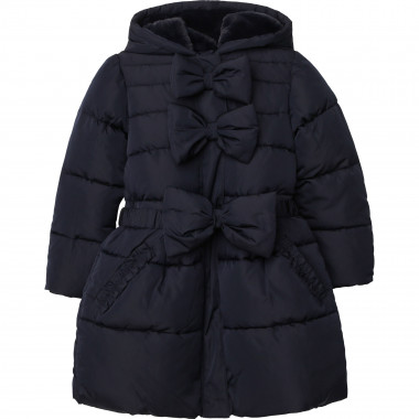 Hooded polyester down jacket CHARABIA for GIRL