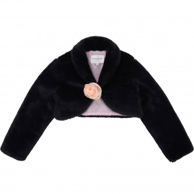 Faux-fur bolero CHARABIA for GIRL