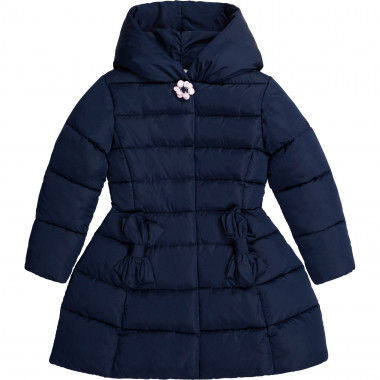 Flared padded coat with hood CHARABIA for GIRL