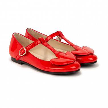 Patent leather pumps CHARABIA for GIRL