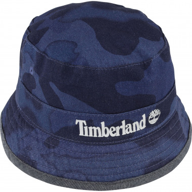 Reversible cotton twill hat TIMBERLAND for BOY