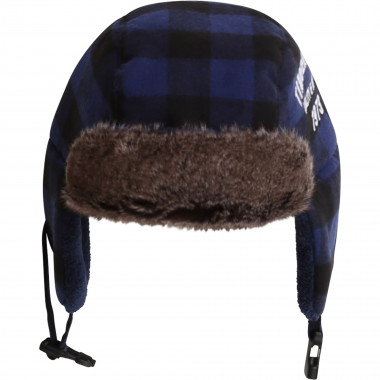 Lined checkered ushanka TIMBERLAND for BOY