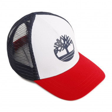Cotton and mesh baseball cap TIMBERLAND for BOY
