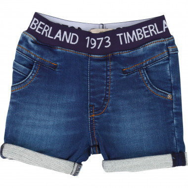 Denim bermuda shorts TIMBERLAND for BOY