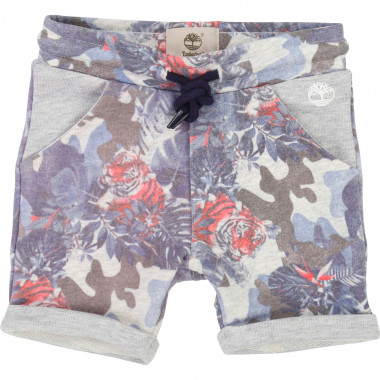 Printed fleece bermuda shorts TIMBERLAND for BOY