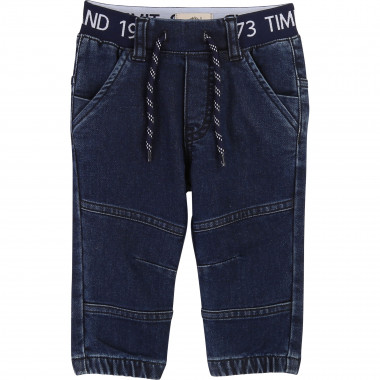 Denim fleece trousers TIMBERLAND for BOY