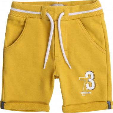 Suede fleece shorts TIMBERLAND for BOY