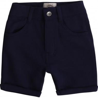 Plain suede fleece shorts TIMBERLAND for BOY
