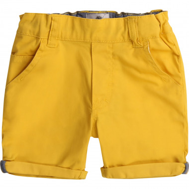 Adjustable twill shorts TIMBERLAND for BOY