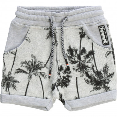 Palm tree-printed shorts TIMBERLAND for BOY
