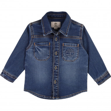 Denim fleece shirt TIMBERLAND for BOY
