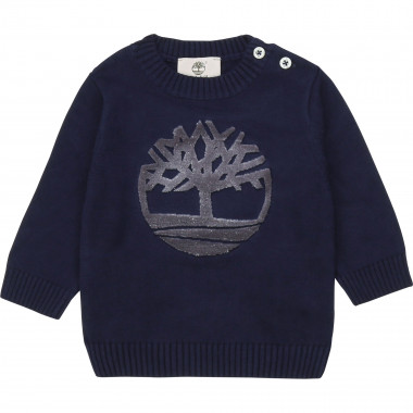 Knit logo jumper TIMBERLAND for BOY