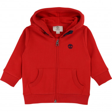 Hooded fleece jumper TIMBERLAND for BOY