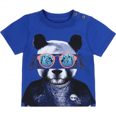 Organic cotton T-shirt TIMBERLAND for BOY