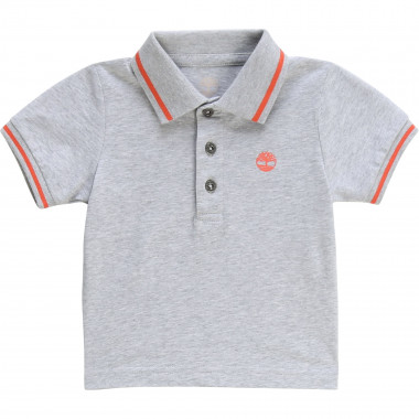 Jacquard stripe cotton polo TIMBERLAND for BOY