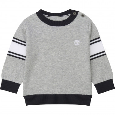 Striped cotton jumper TIMBERLAND for BOY