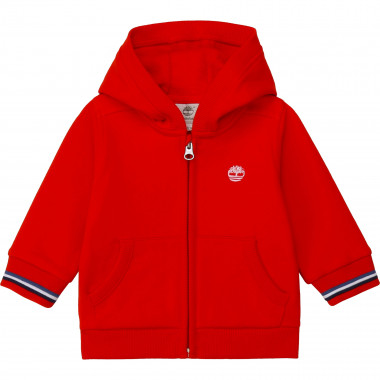 HOODED CARDIGAN TIMBERLAND for BOY