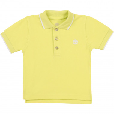 Organic cotton polo TIMBERLAND for BOY