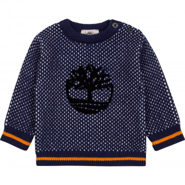 Cotton and wool jumper TIMBERLAND for BOY