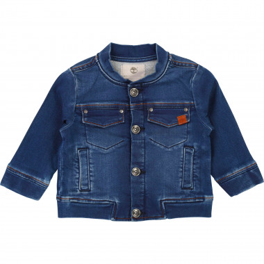 Press stud denim jacket TIMBERLAND for BOY