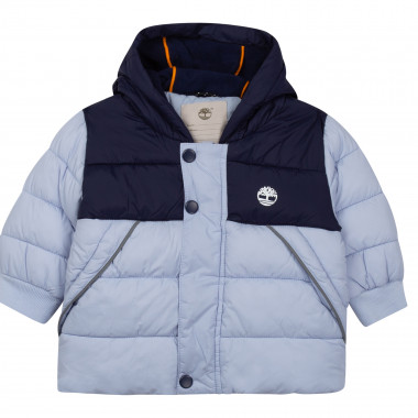 Water-repellent hooded down jacket TIMBERLAND for BOY