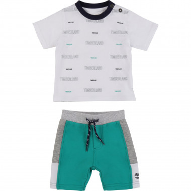 T-shirt + shorts set TIMBERLAND for BOY